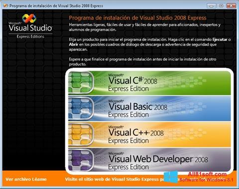 스크린 샷 Microsoft Visual Studio Windows 8.1