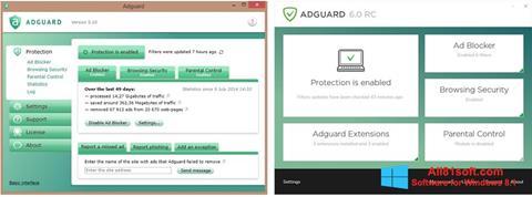 스크린 샷 Adguard Windows 8.1